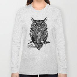 Warrior Owl 2 Long Sleeve T-shirt