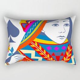 Queen of spades Rectangular Pillow