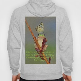 Frog and Butterfly Hoody