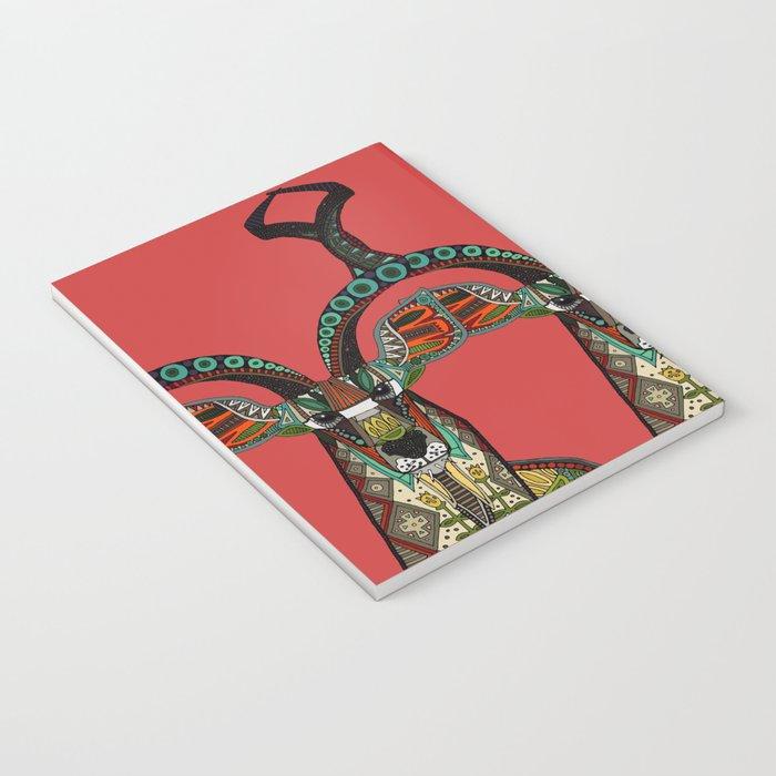 antelope red Notebook