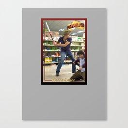 Tallahasee Baseball Card Canvas Print