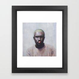 Blonde (Frank) Framed Art Print