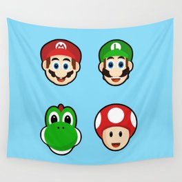 Mario and Friends Wall Tapestry