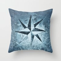 "destiny Throw Pillows featuring ""Destiny"" by Guido Montañés"