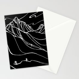 Creating Curves I :: Single Line Stationery Cards