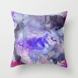 Watercolor Koi Fish Throw Pillow