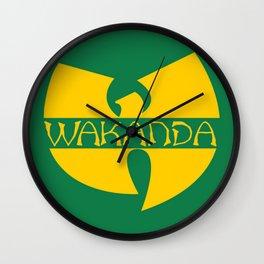 Wa-tang Kanda Wall Clock