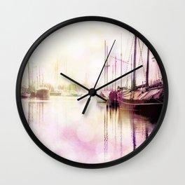 Northern Harbor IV Wall Clock