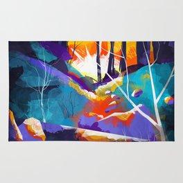 The Waning Light :: Landscape Rug