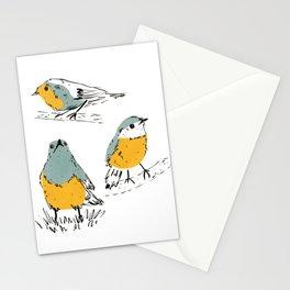 Old World Flycatcher Bird Stationery Cards