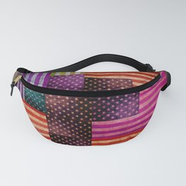 American Flags Fanny Pack