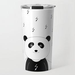 Panda superhero Travel Mug
