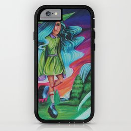 witch kid iPhone Case