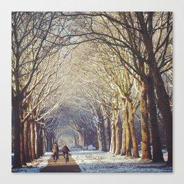 Dutch Winter Wonderland  Canvas Print