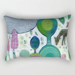 Playful Dawn Rectangular Pillow