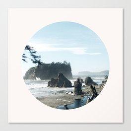 Washington state coast Canvas Print