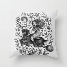 VVITCH Throw Pillow