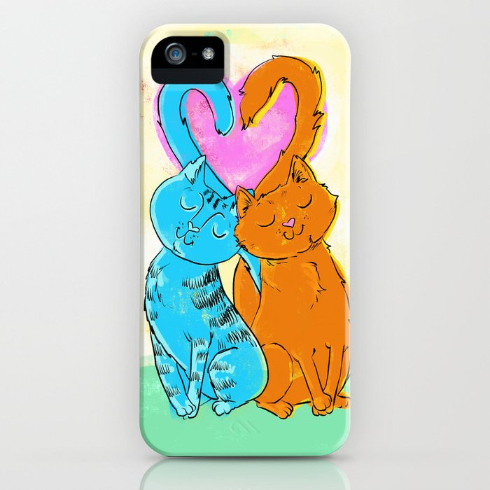 Tails of love iPhone Case