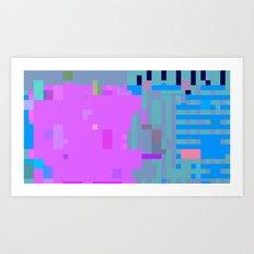 taintedcanvas107x2a Art Print