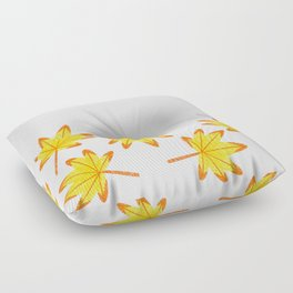 Japanese Maple Leaves Floor Pillow