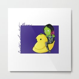Don't make a peep Metal Print