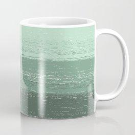 Stripey Mint Coffee Mug
