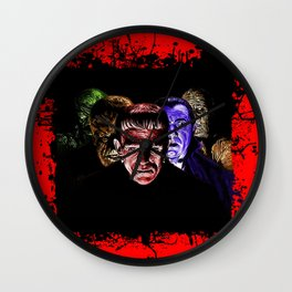Famous Monsters Team Wall Clock