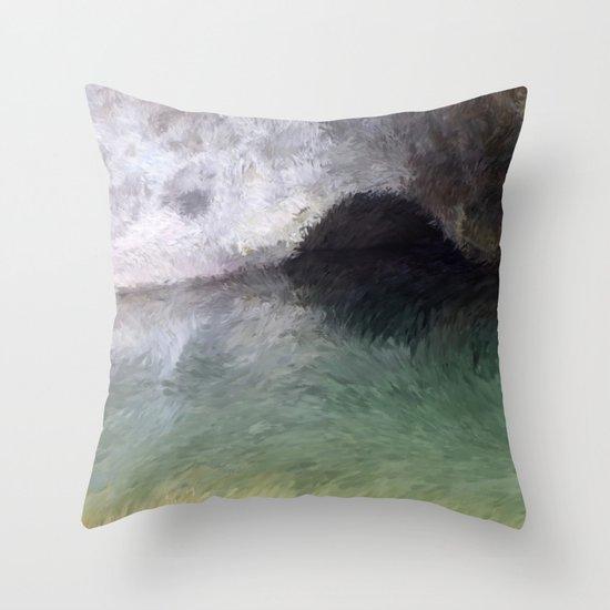 Kaua'i Cave Throw Pillow