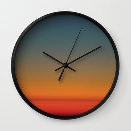 Sunrise at 30,000 ft Wall Clock