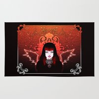 gothic Area & Throw Rugs featuring Gothic by JadeGordon