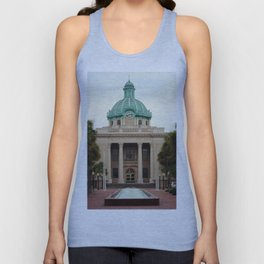Volusia County Court House - Deland, Florida Unisex Tank Top