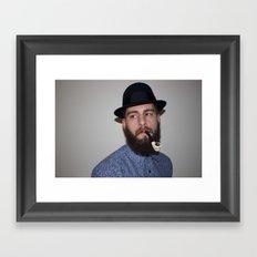 Punk & Pipe Framed Art Print