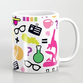Neon Scientist Coffee Mug