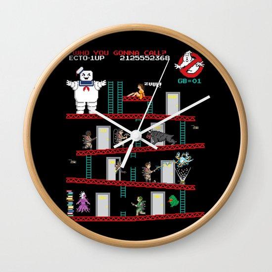 Donkey Puft Wall Clock
