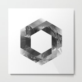 Optical landscape Metal Print