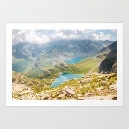 Parco Nazionale Gran Paradiso Art Print