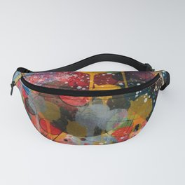Kandinsky Action Painting Street Art Colorful Fanny Pack