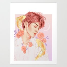 sweet dreams [taeyong nct] Art Print