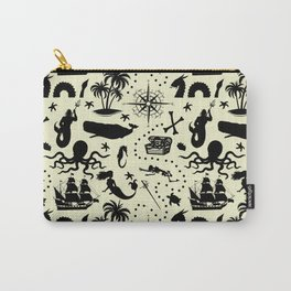 High Seas Adventure // Yellow Carry-All Pouch