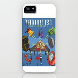 Distorted Brains Cover iPhone Case