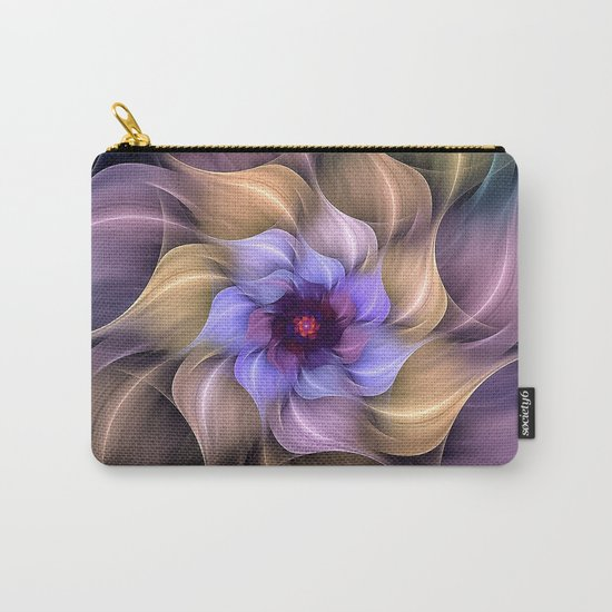 Colorful Magic Flower Carry-All Pouch