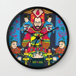 Pear God Wall Clock