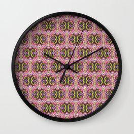 Rainbow Curlz Wall Clock