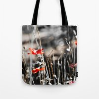 sin city Tote Bags featuring Sin City by Irène Sneddon