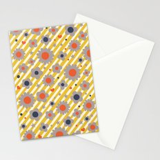 Punk Flower in Primary Stationery Cards
