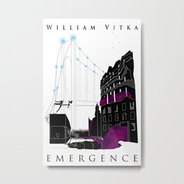 Emergence - Book Cover Metal Print