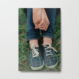 Hands & Feet Metal Print