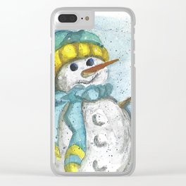 Armida's Art - Christmas Clear iPhone Case