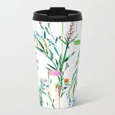 Fleur botanique Metal Travel Mug