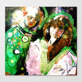 Klimtine Canvas Print
